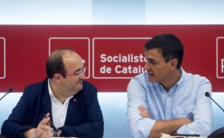 Miquel Iceta y Pedro Sánchez en una imagen de archivo./ EFE