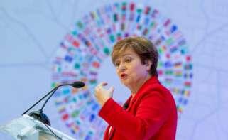 Kristalina Georgieva, presidenta del FMI / EFE