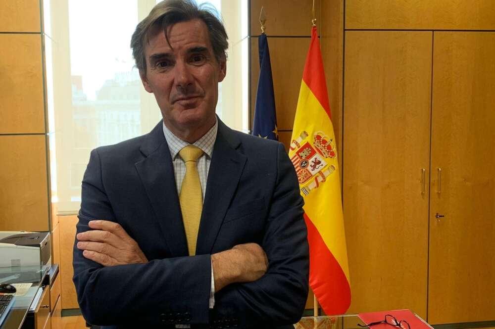 Carlos San Basilio, secretario general del Tesoro y Financiación Internacional.