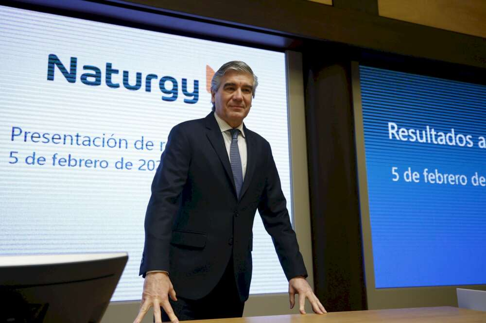 Francisco Reynés, presidente de Naturgy. EFE