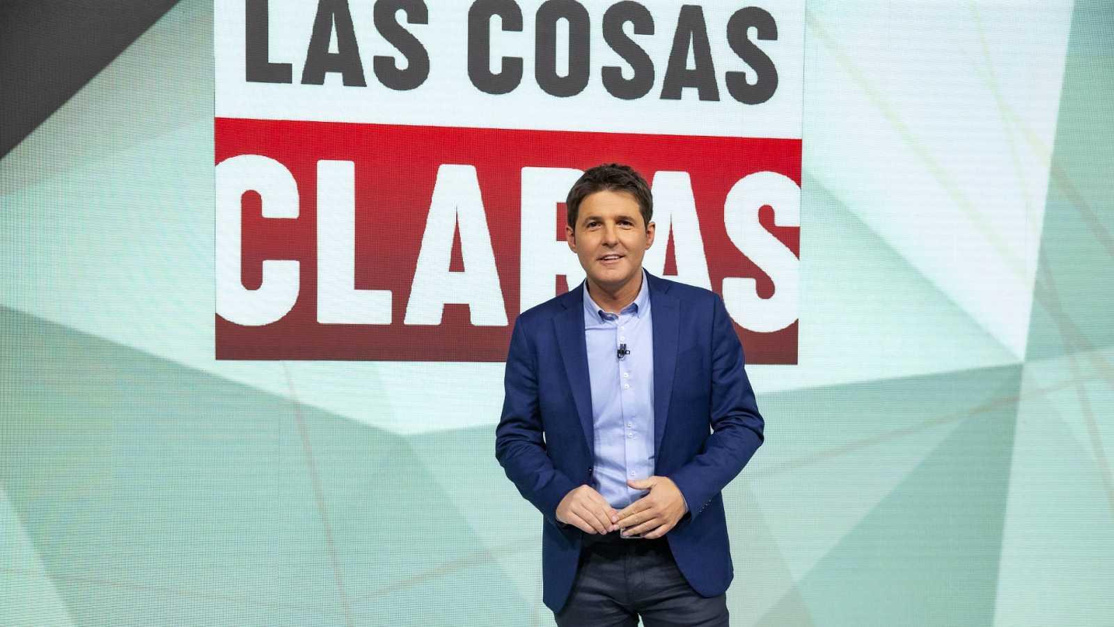 El conductor de 'Las cosas claras', Jesús Cintora, en la primera edición del programa en La 1 de TVE, el 16 de noviembre de 2020 | RTVE/Archivo