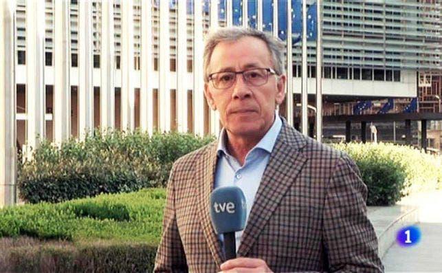 El corresponsal de TVE en Bruselas hasta agosto de 2020, José Ramón Patterson | RTVE/Archivo