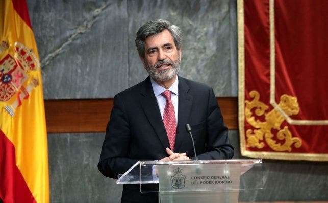 Carlos Lesmes, presidente del Tribunal Supremo y del Consejo General del Poder Judicial ha mantenido en las últimas horas contactos con el Gobierno /EFE