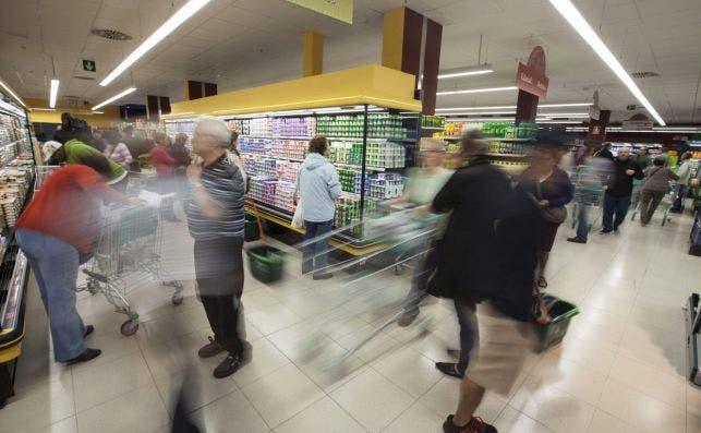 Un supermercado de Mercadona en su interior, uno de los supers que abrirá este puente de la Constitución.
