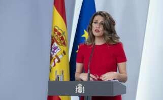Yolanda Díaz, ministra de Trabajo / EFE