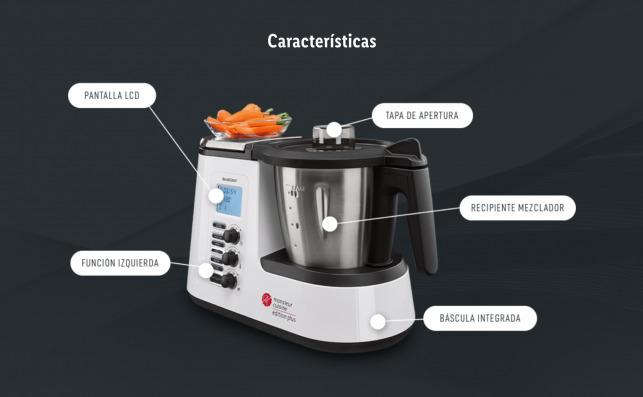 El robot de cocina barato de Lidl, Monsieur Cuisine Plus, una versión mejorada de su electrodoméstico que asusta a Thermomix / Lidl