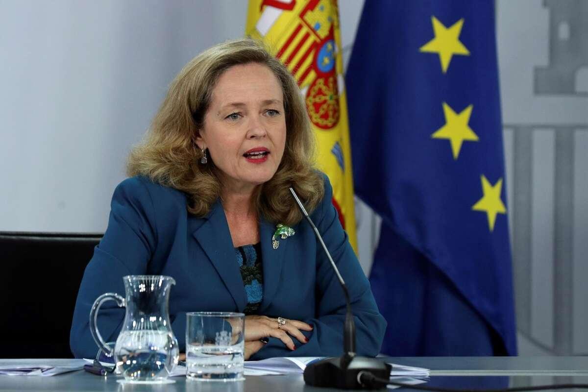 Nadia Calviño, ministra de Asuntos Económicos y vicepresidenta del Gobierno