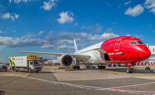 Norwegian dejará de volar entre Madrid y Nueva York el 26 de marzo. Foto: Norwegian.