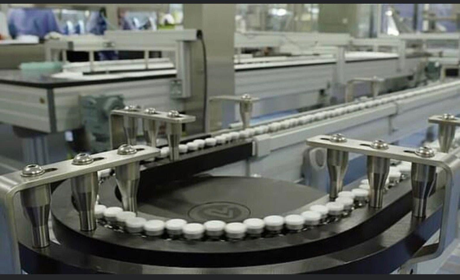 Imagen de una de las fábricas de Pfizer donde se ha iniciado la producción masiva de la vacuna del coronavirus