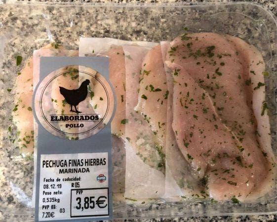 Pollo supermercado 5