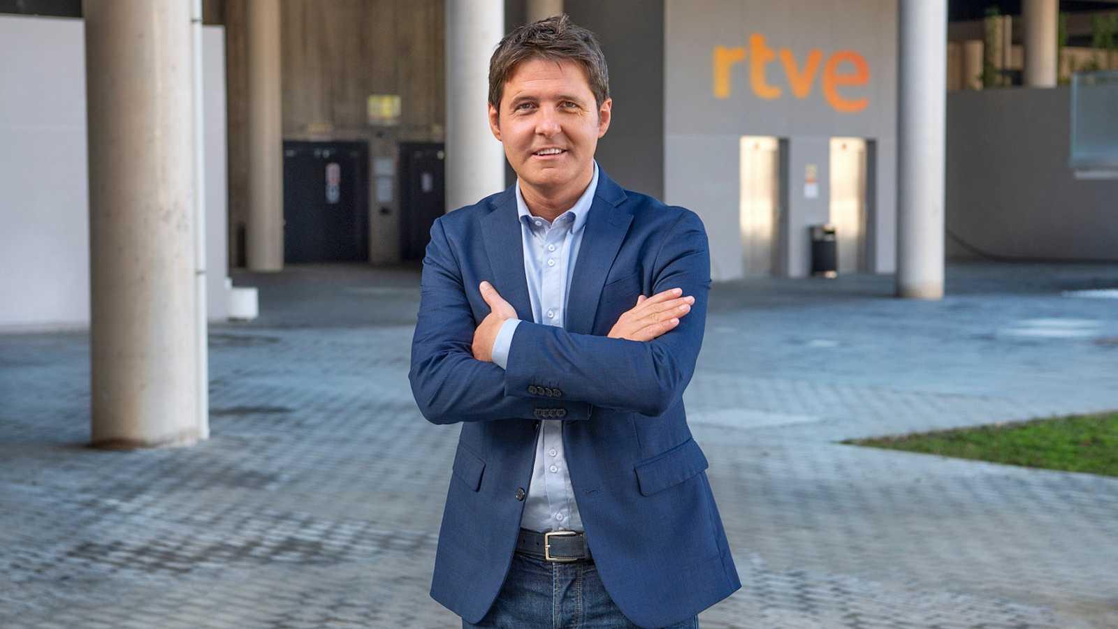 El periodista Jesús Cintora, presentador del nuevo programa 'Las cosas claras', en La 1 de TVE | RTVE/Archivo