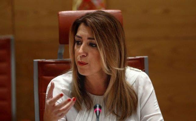 Susana Díaz, en una imagen de archivo. EFE