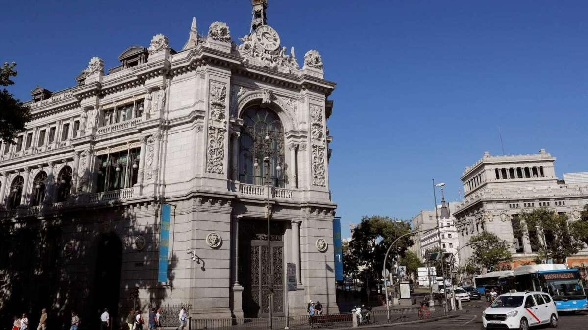 achada del Banco de España, en Madrid. EFE/Chema Moya/Archivo