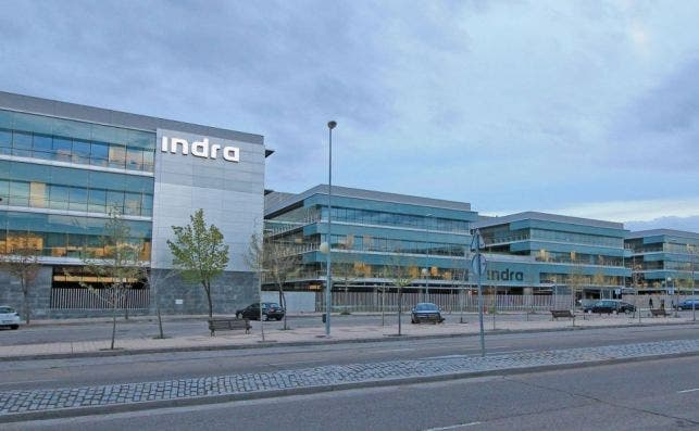 Imagen de la sede de Indra