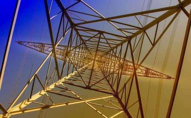 Torre de distribución eléctrica de Iberdrola