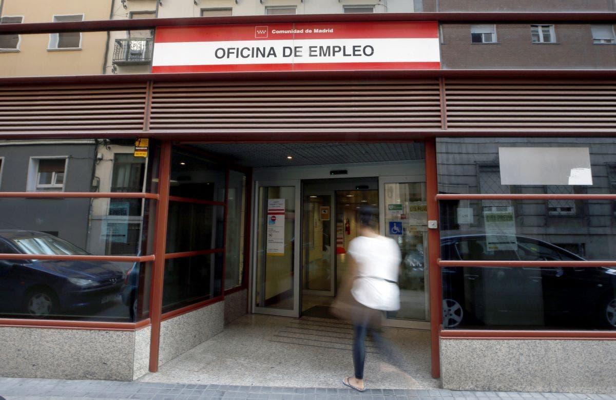 Oficina de empleo./ EFE