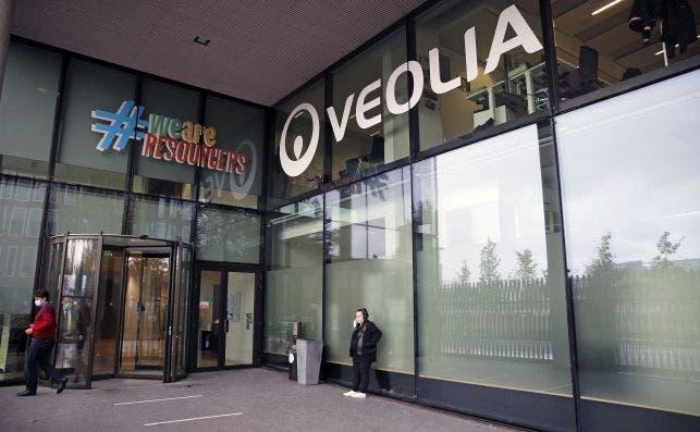 Oficinas de Veolia en Aubervilliers, Francia. La compañía acelera su opa sobre Suez. Imagen: Getty Images
