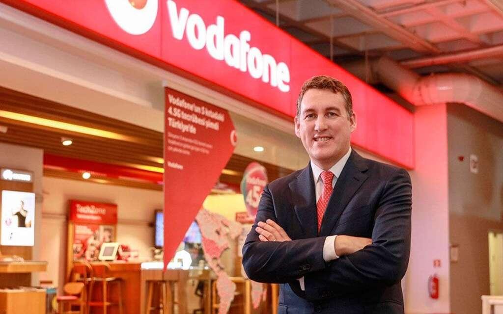 El nuevo CEO de Vodafone España, Colman Deegan. Fotografía cedida