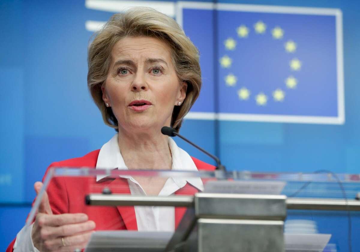 Ursula Von der Leyen, presidenta de la Comisión Europea./ EFE