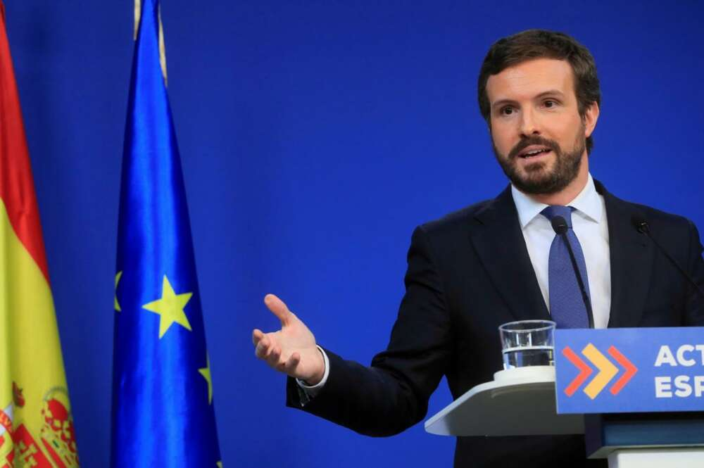 Pablo Casado, presidente del PP./ Efe