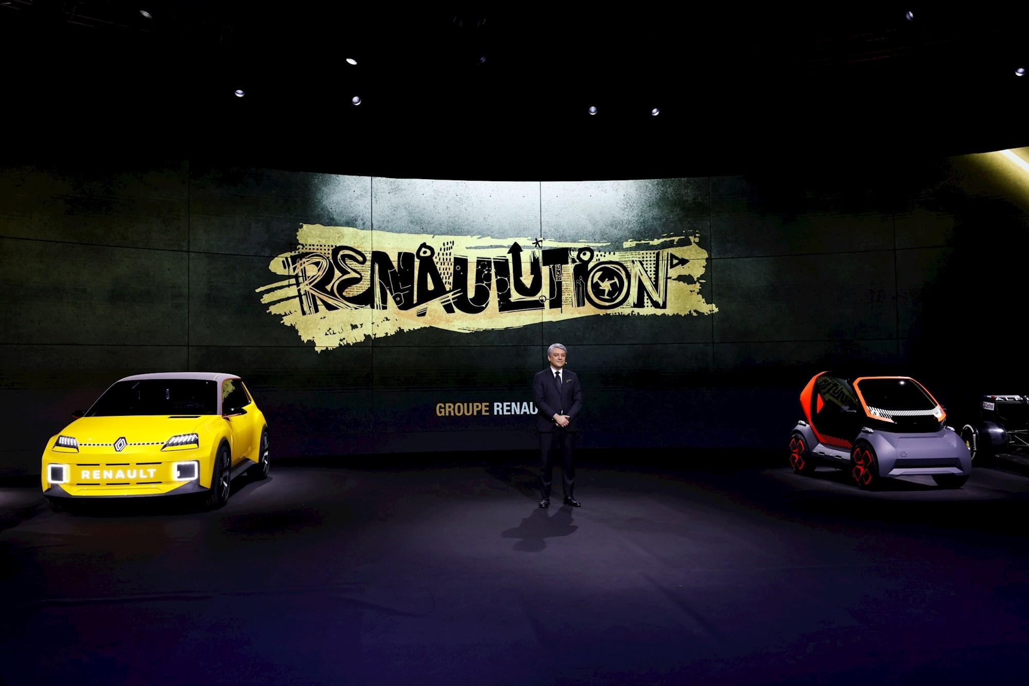 El consejero delegado de Renault, Luca de Meo. EFE/EPA/OLIVIER MARTIN GAMBIER