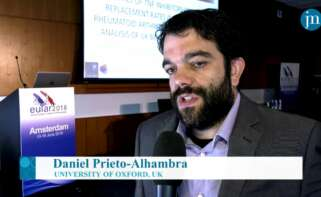Daniel Prieto-Alhambra en una entrevista con una entrevista.