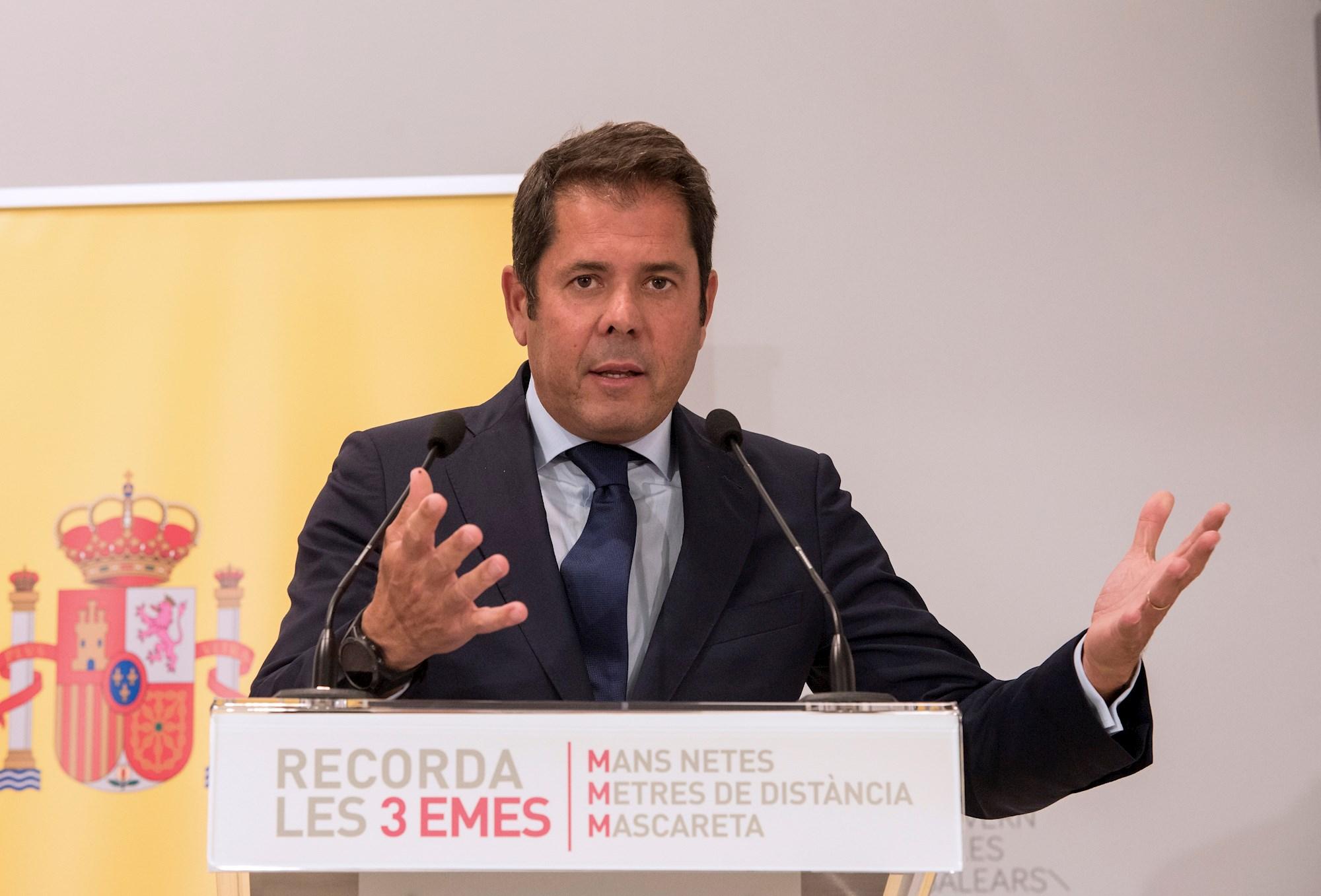 El presidente de CEPYME, Gerardo Cuerva, interviene en rueda de prensa. EFE/ATIENZA/Archivo