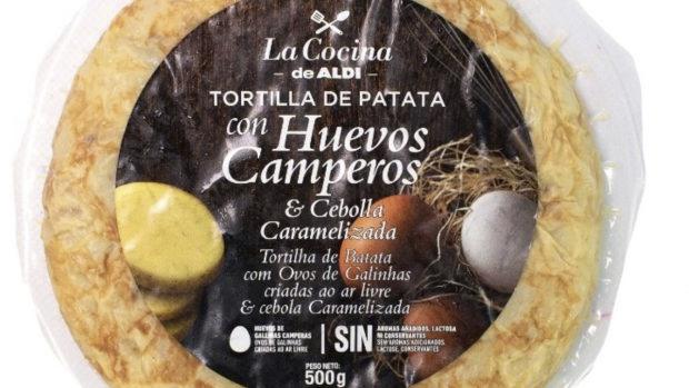 Aldi tortilla de patatas