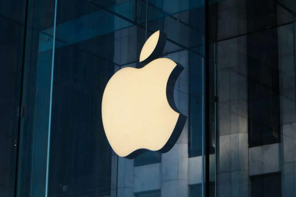 Imagen corporativa de Apple, responsable del diseño del nuevo iPhone 12
