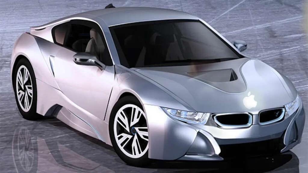 Uno de los renders del nuevo coche de Apple y Hyundai Motor