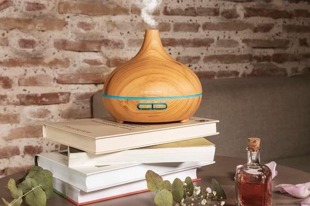 El humidificador ultrasónico Cecotec Pure Aroma Yin es líder en ventas en Amazon