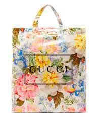 Botanical floral tote bag