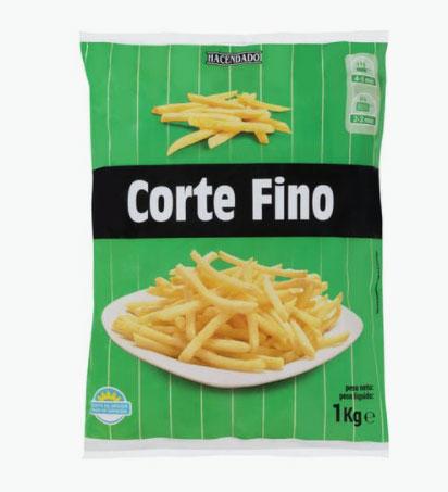 Patatas Corte Fino de Mercadona