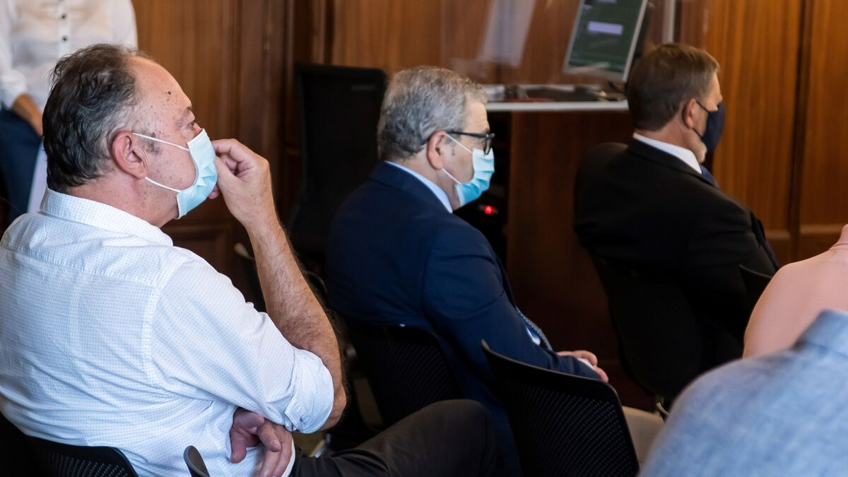 El ex director de Trabajo Daniel Alberto Rivera, en el juicio de Acyco. / EFE