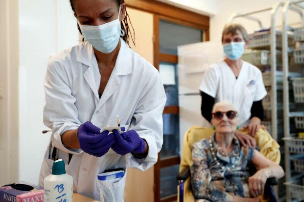 Campaña de vacunación en Montpellier (Francia) EFE/EPA/Guillaume Horcajuelo