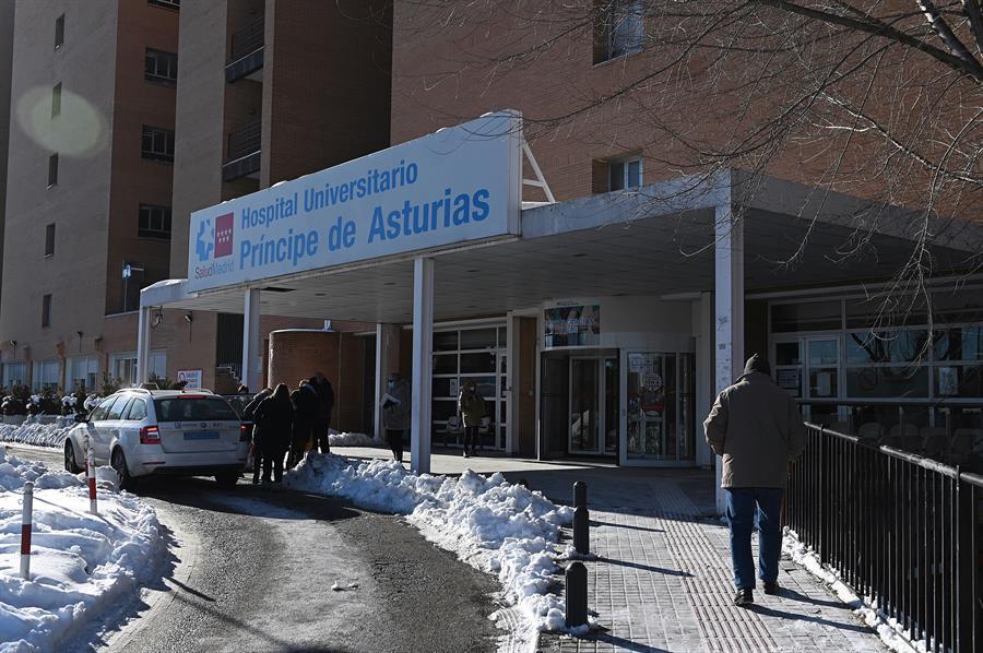 Una imagen del hospital Príncipe de Asturias de Madrid, presionado por las restricciones de la tercera ola