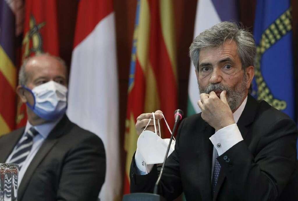 Carlos Lesmes, presidente del Consejo General del Poder Judicial./ EFE