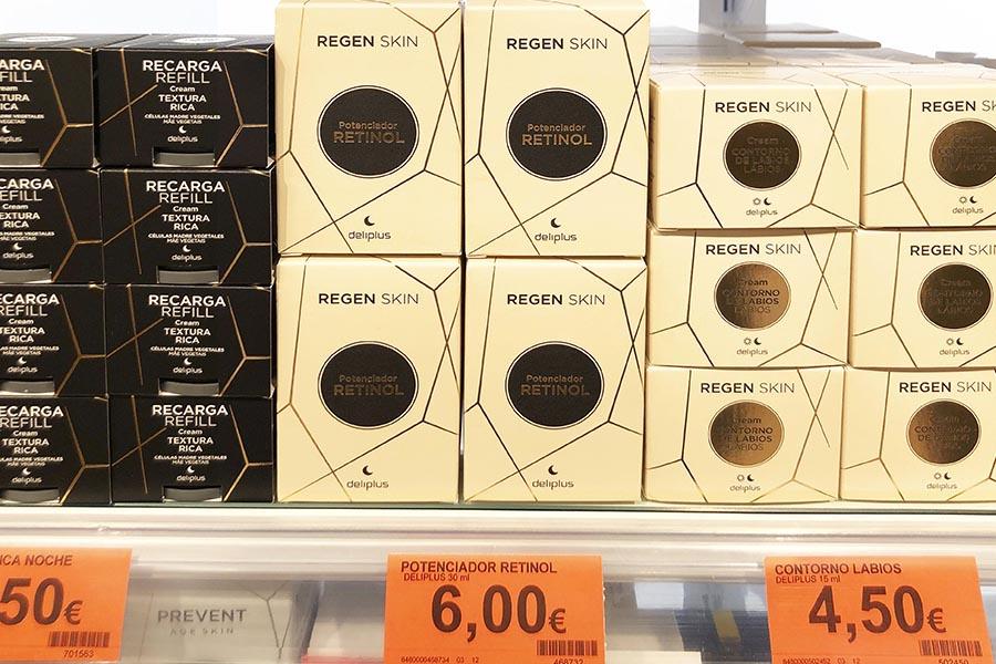 Sérum antiarrugas de Mercadona Regen Skin Potenciador Retinol Deliplus