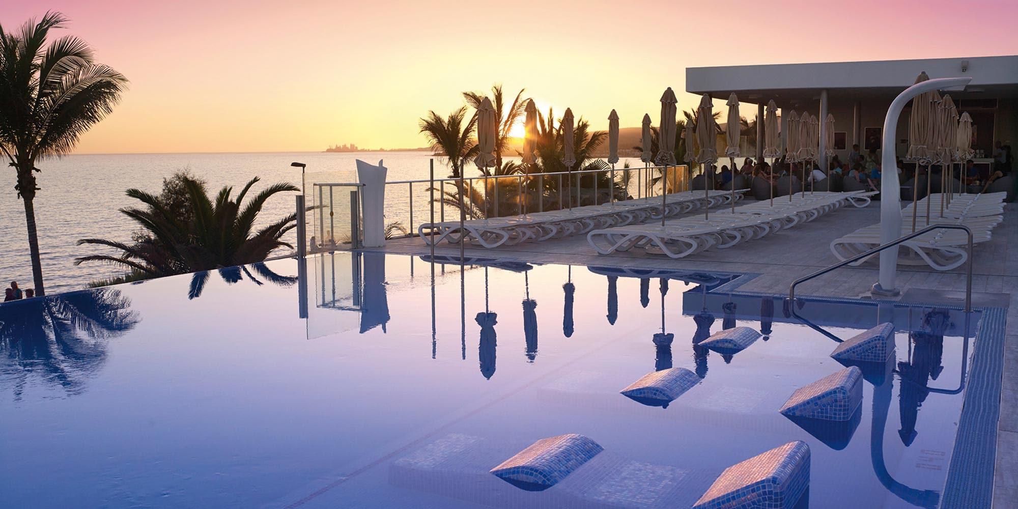 Un hotel de RIU en Canarias