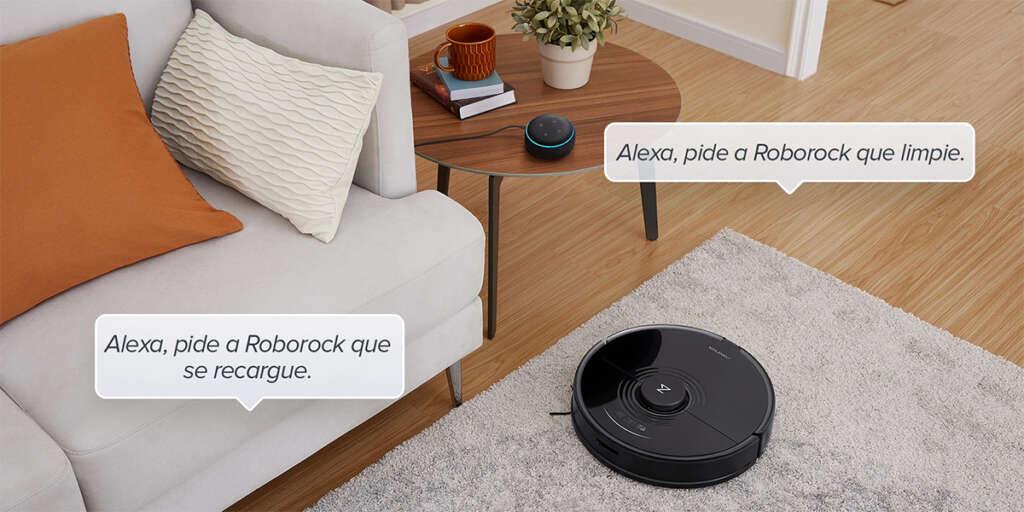 El Roborock S7 es compatible con Alexa, Siri y Google Home