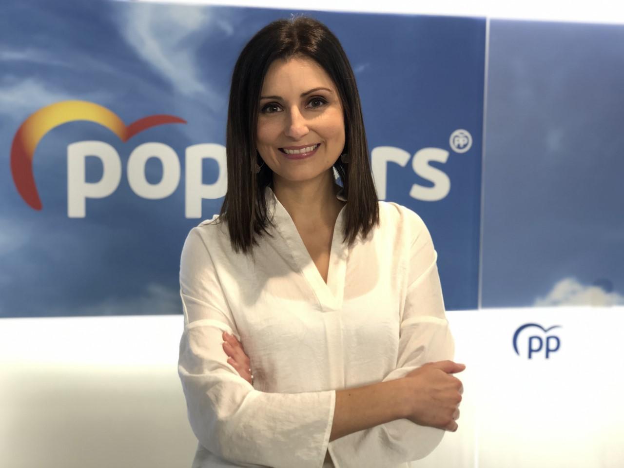La exdirigente de Ciudadanos y ahora número 2 del PP a las elecciones catalanas, Lorena Roldán | PP