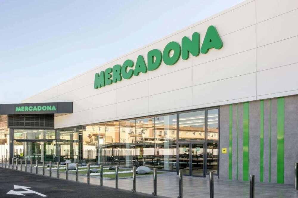 Imagen de un supermercado de Mercadona
