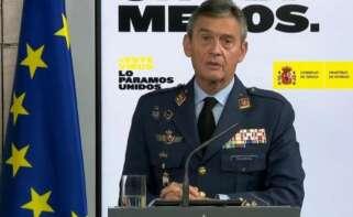 Jefe de Estado Mayor de la Defensa, Miguel Ángel Villarroya. / EFE