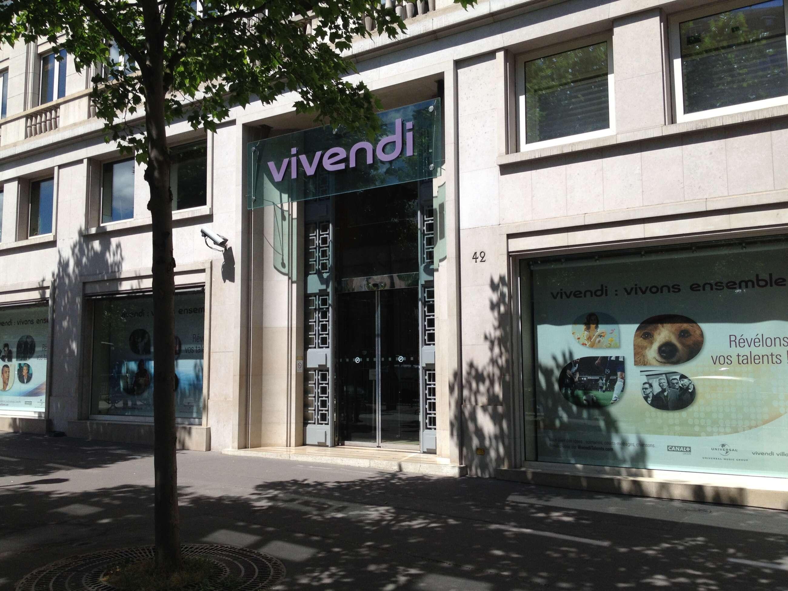Imagen de la sede de Vivendi en Francia