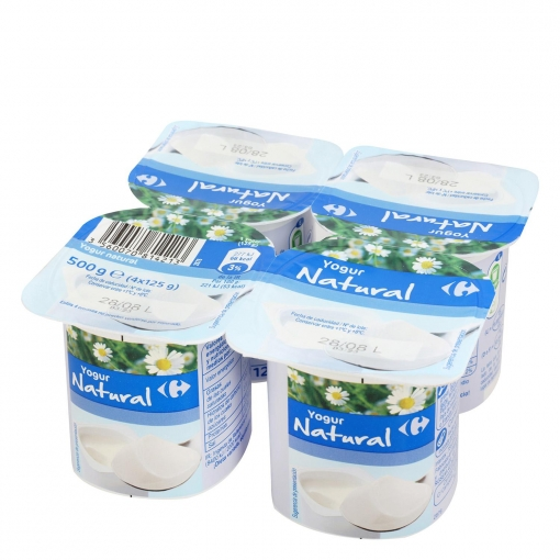 Lácteos de Carrefour, de los cinco mejores yogures de supermercado según la OCU