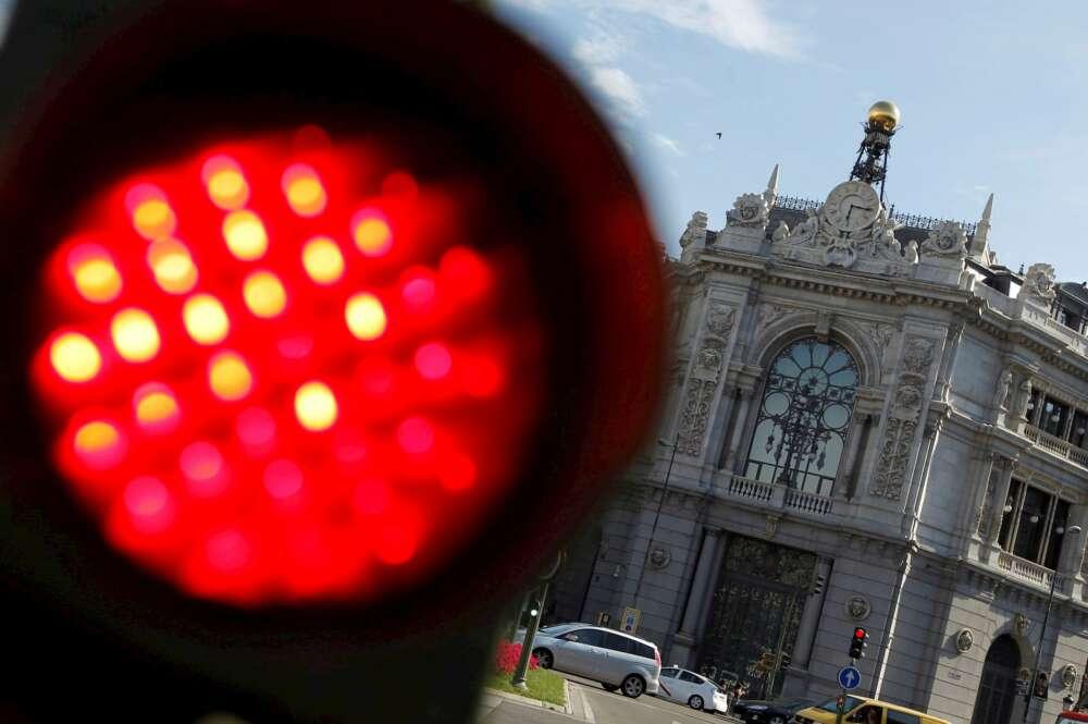 Fachada de la sede del Banco de España. EFE/J.J. Guillén/Archivo