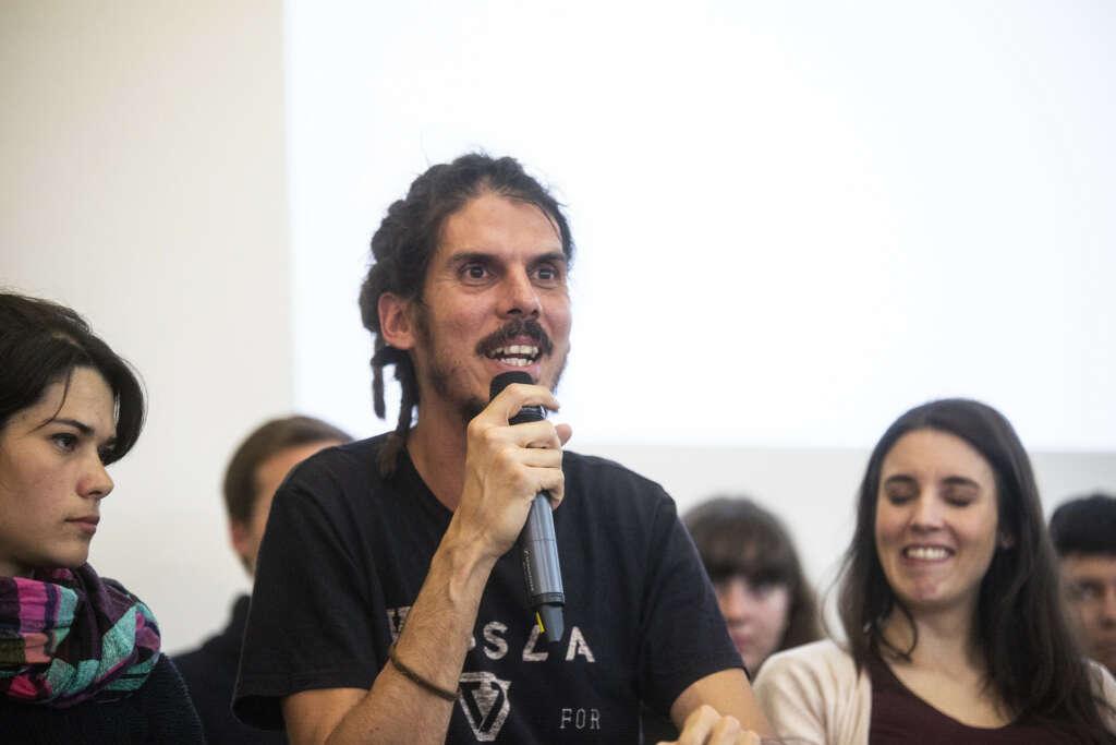 El diputado de Podemos Alberto Rodríguez, acusado de pegar a un policía en Canarias / Podemos