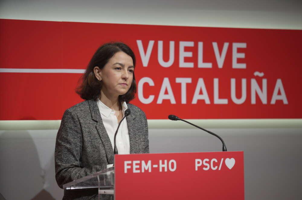 La portavoz del PSC y diputada en el Parlament, Eva Granados / PSC