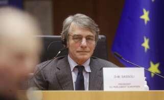 El presidente del Parlamento Europeo, David Sassoli. EFE/EPA/OLIVIER HOSLET/ Archivo