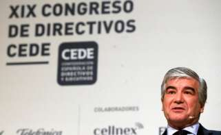 El presidente de Naturgy, Francisco Reynés, que impulsará un proyecto para construir 38 hidogeneras en España. EFE